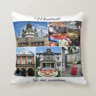 Montreal Travel Collection Cushion