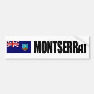 Montserrat Flag Bumper Sticker