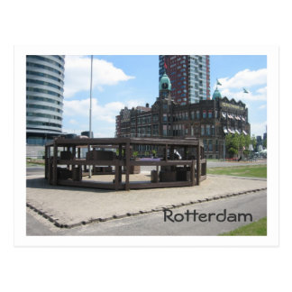 Monument for Dutch emigrants Postcard