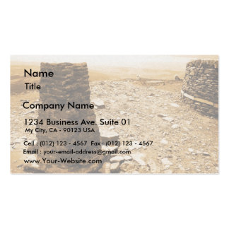 Monument On One Peak From Three Peaks In Lake Dist Business Cards