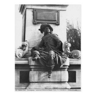 Monument to Alexandre Dumas Pere, d'Artagnan Postcard