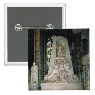 Monument to William Pitt the Elder 15 Cm Square Badge