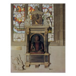 Monument to William Shakespeare  c.1616-23 Print