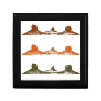 Monument Valley, 3 mountains, 3 colors Gift Box