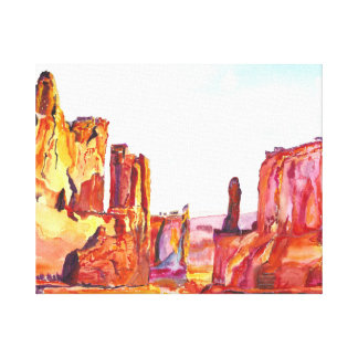 Monument Valley. Canvas Print