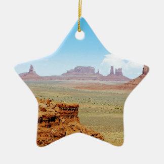 Monument Valley Ceramic Ornament