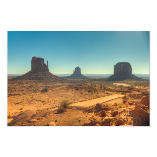Monument Valley Classic View Photo Print