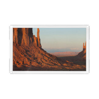 Monument valley,Colorado Acrylic Tray