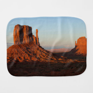 Monument valley,Colorado Burp Cloth