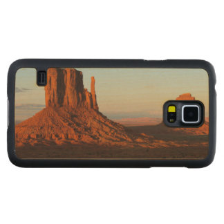 Monument valley,Colorado Carved Maple Galaxy S5 Case