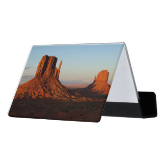 Monument valley,Colorado Desk Business Card Holder