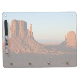 Monument valley,Colorado Dry Erase Board With Key Ring Holder
