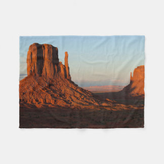 Monument valley,Colorado Fleece Blanket