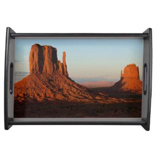 Monument valley,Colorado Serving Tray
