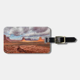 Monument valley landscape, AZ Luggage Tag