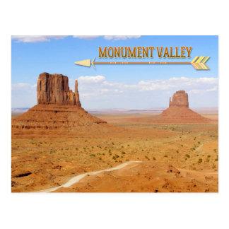 Monument Valley Navajo Tribal Park Postcard