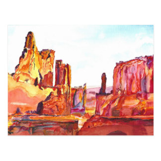 Monument Valley. Postcard