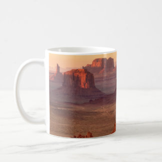 Monument valley scenic, Arizona Coffee Mug