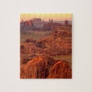 Monument valley scenic, Arizona Jigsaw Puzzle