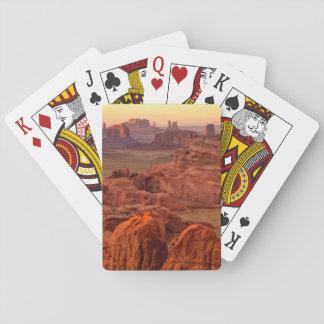 Monument valley scenic, Arizona Poker Deck