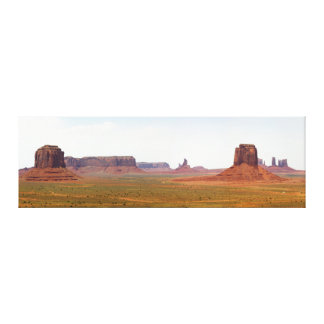 Monument Valley seen from Artist Point Arizona Canvas Print
