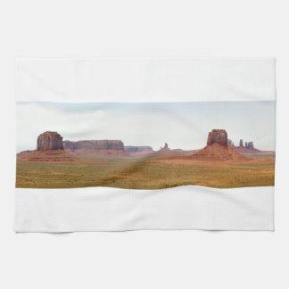 Monument Valley seen from Artist Point Arizona Kitchen Towel