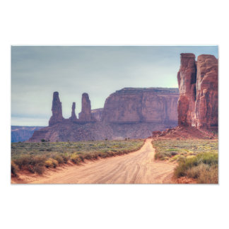 Monument Valley Three Sisters Photo Print