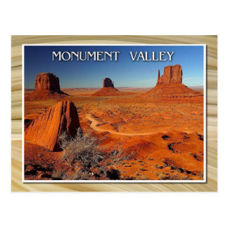 Monument Valley, Utah and Arizona Postcard