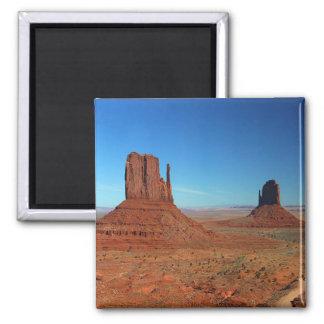Monument Valley Utah Square Magnet