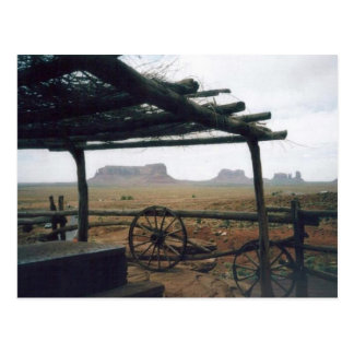 Monument Valley View Postcard