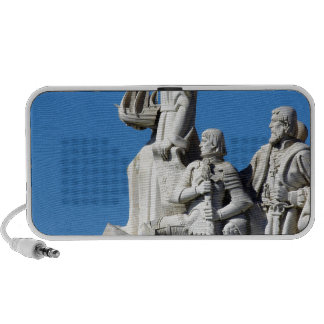 Monument you the Portuguese Discoveries at Lisbon iPod Speakers