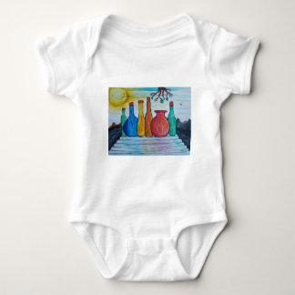 Monumental bottles baby bodysuit