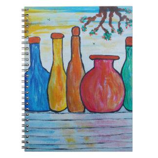 Monumental bottles notebook