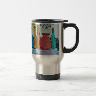 Monumental bottles travel mug