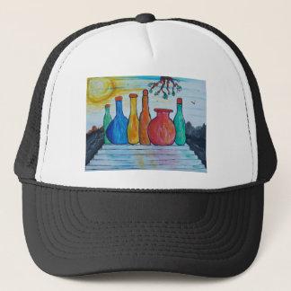 Monumental bottles trucker hat