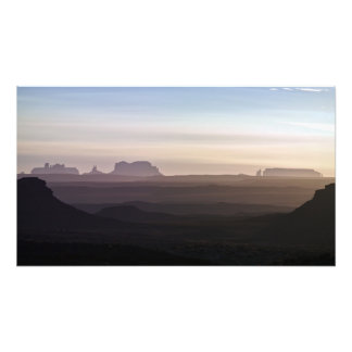 Monuments from Valley of the Gods Photo Print