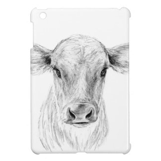 Moo A Young Jersey Cow iPad Mini Case