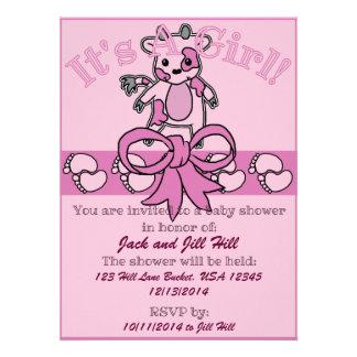 Moo Baby Shower Invitation