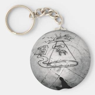 Moo Basic Round Button Key Ring