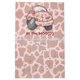 Moo Car Calendar