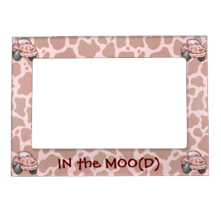 Moo Car Magnetic Picture Frame