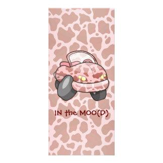 Moo Car Rack Card