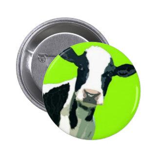 Moo Cow! 6 Cm Round Badge