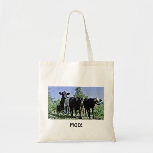 MOO! Cow Bag