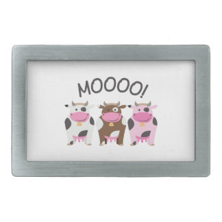 Moo Cow Belt Buckles