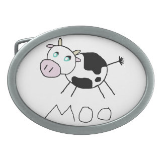 Moo Cow Belt Buckles