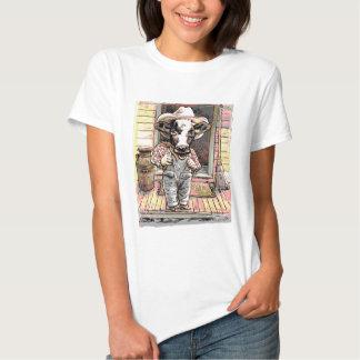 Moo Cow Boy by Mudge Tshirt