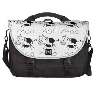 Moo Cow Laptop Commuter Bag