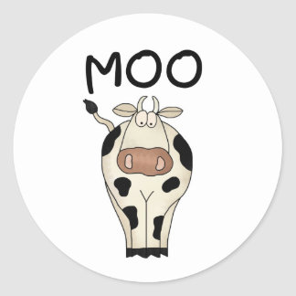 Moo Cow Stickers