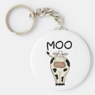 Moo Cow Tshirts and Gifts Keychain